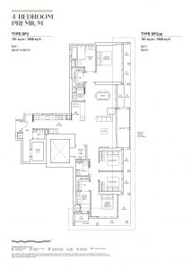 canninghill piers 4 bedroom premium 1948sqft floorplan